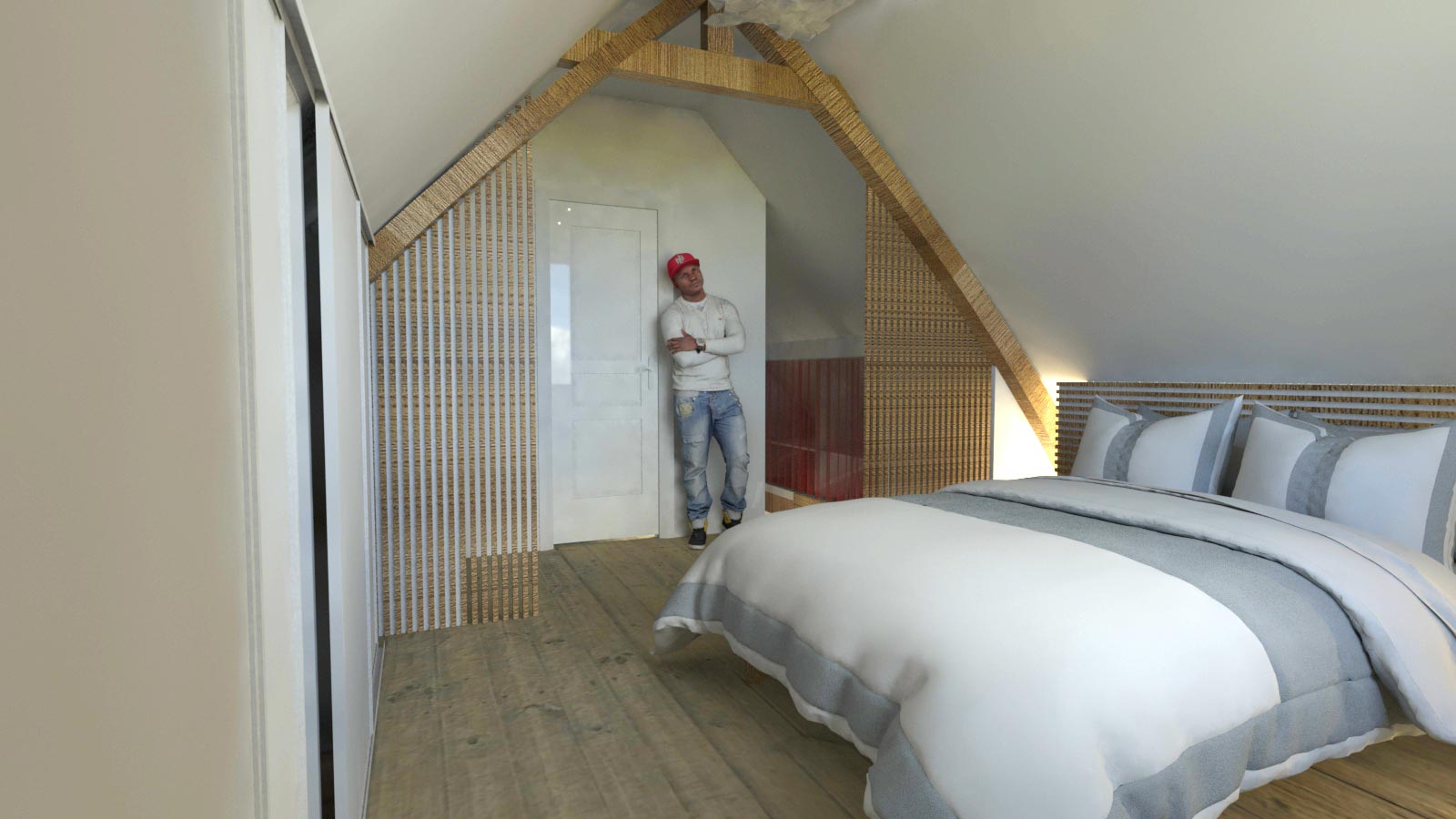 circulation d coration et lumi re architectswaves. Black Bedroom Furniture Sets. Home Design Ideas